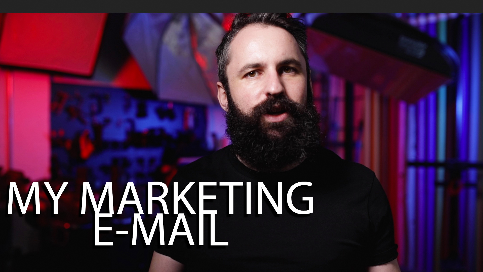 Photography Marketing Email Template
